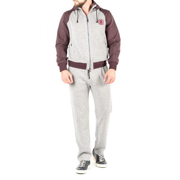 Спортивный костюм Massimo Sforza серый