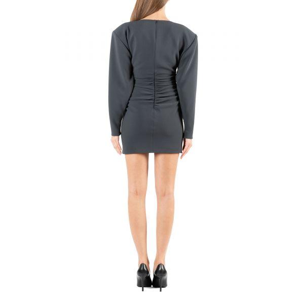 Платье Magda Butrym темно-серое