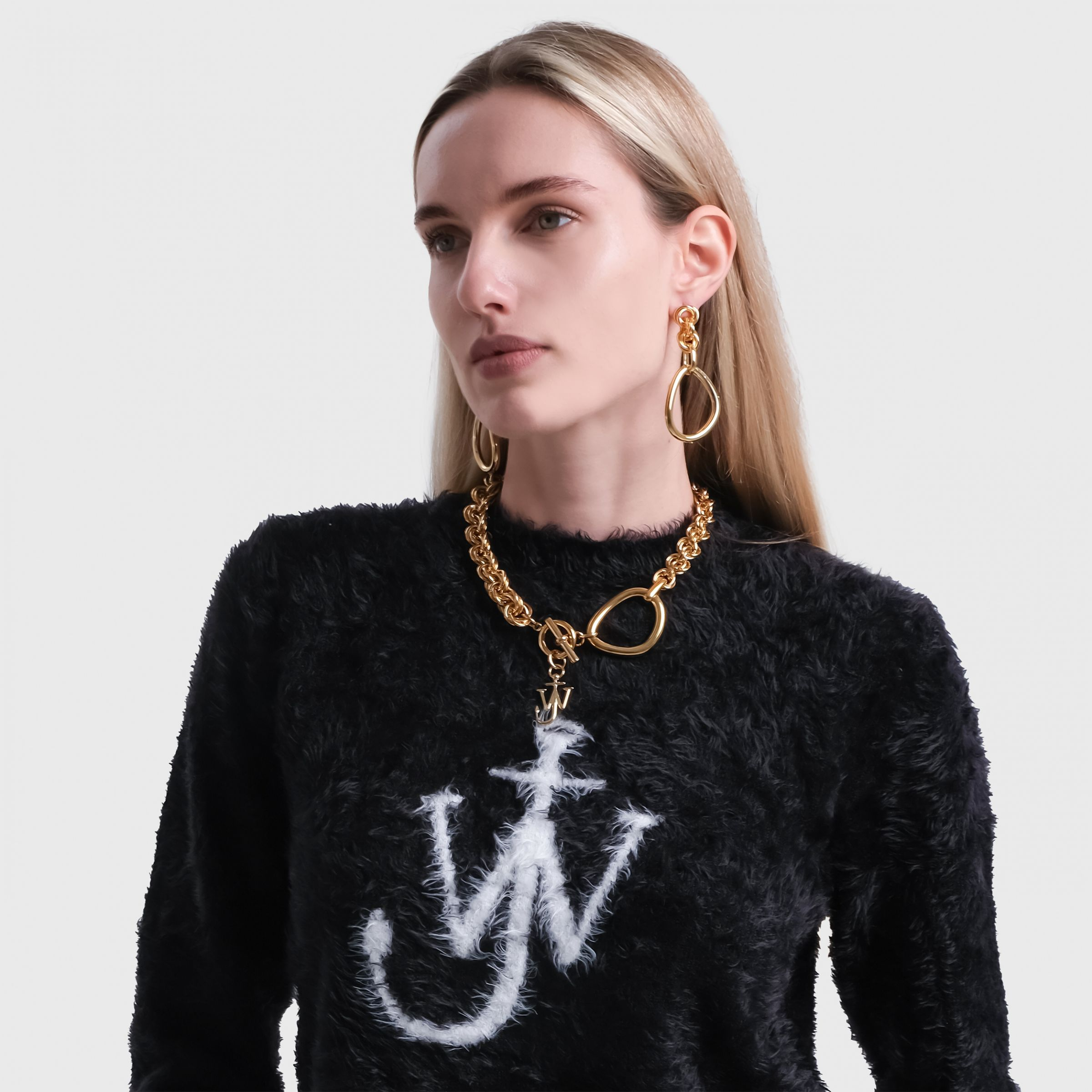 Ожерелье J.W.Anderson золотое