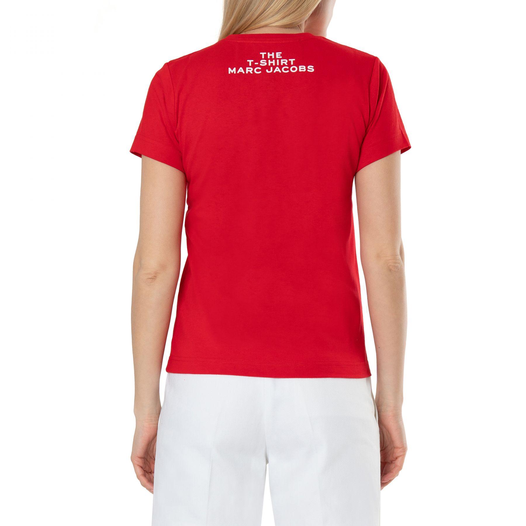 Футболка Marc Jacobs красная