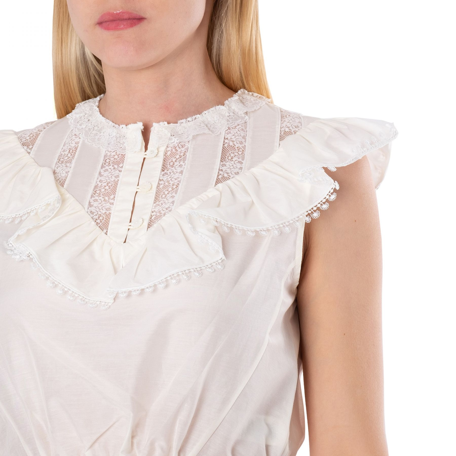Блуза Marc Jacobs белая