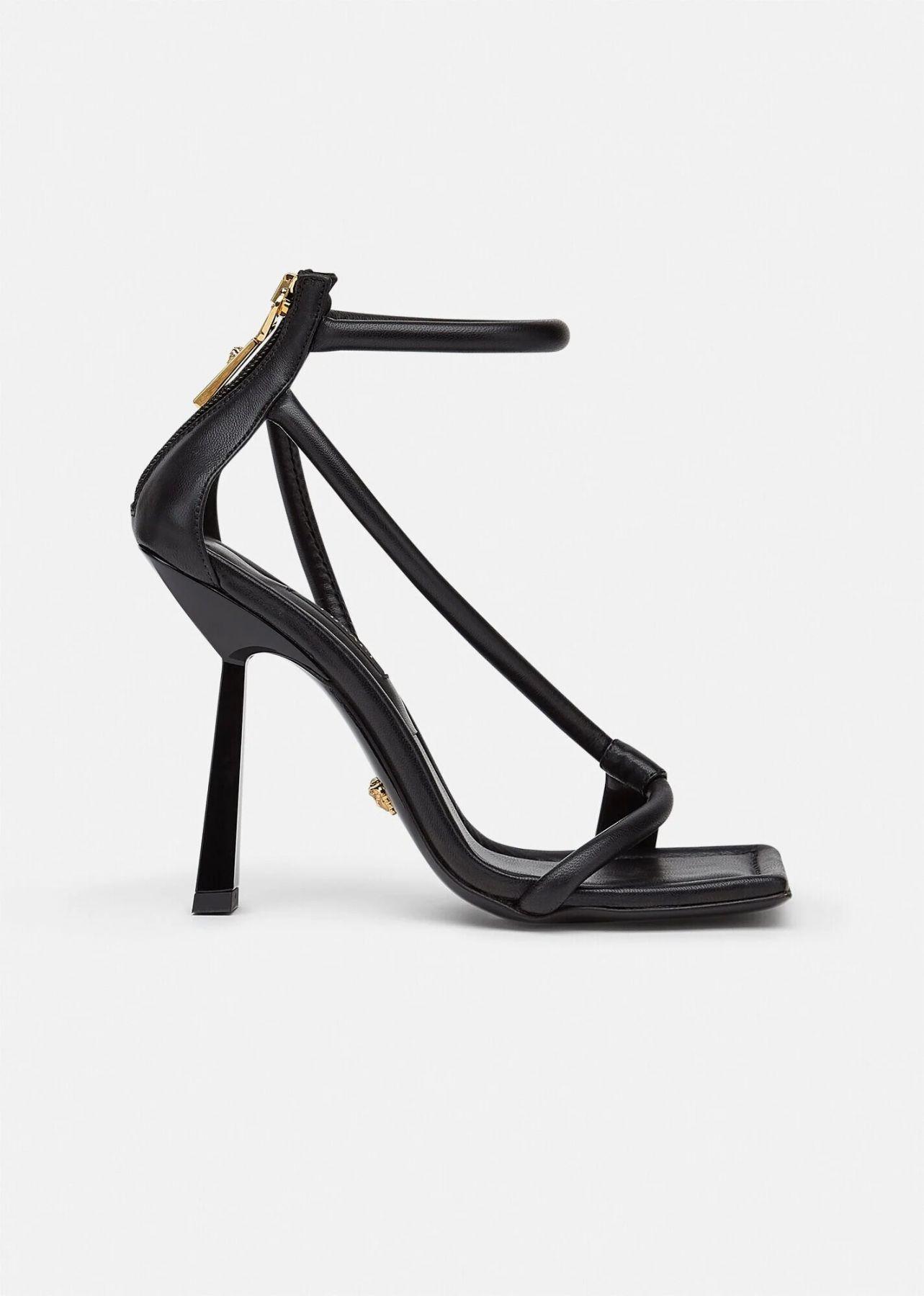 Сабо Versace черные