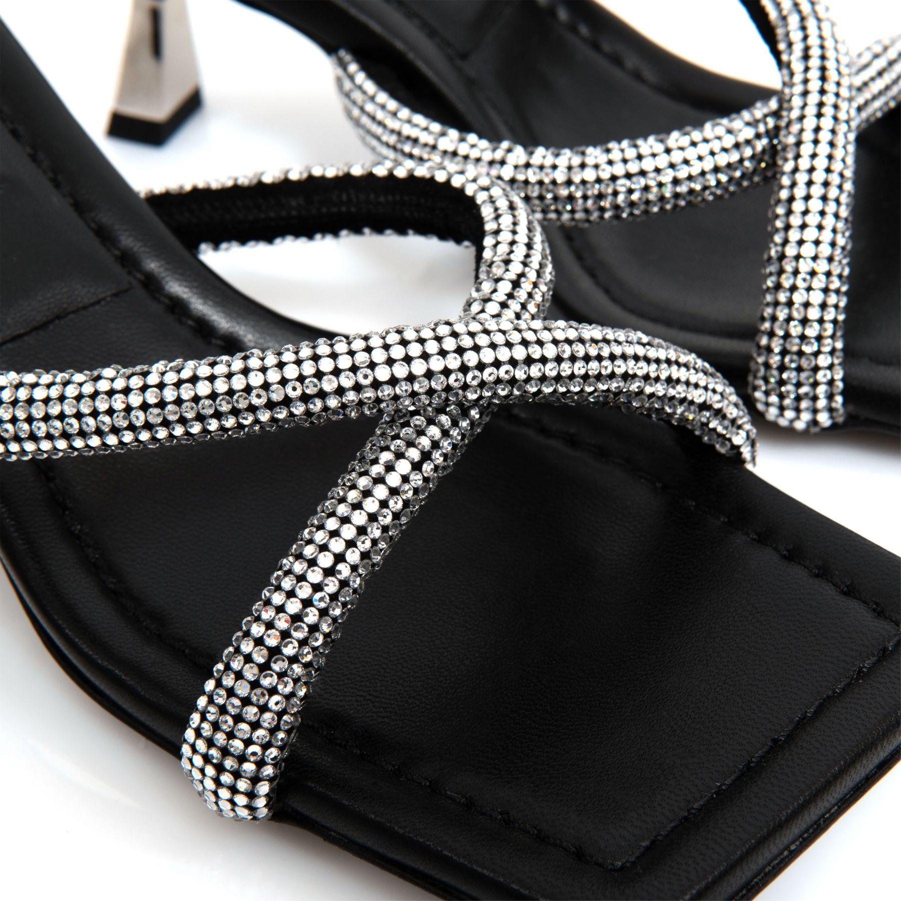 Мюли Versace Artifact черные
