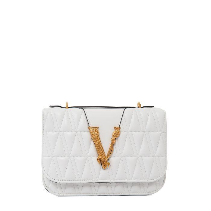 Сумка Versace Virtus белая