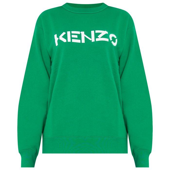Свитшот Kenzo зеленый
