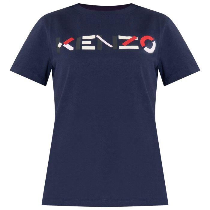 Футболка Kenzo темно-синяя