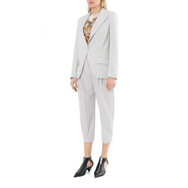 Пиджак Stella McCartney Lindsay светло-серый
