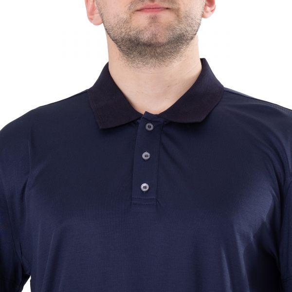 Поло Brett Johnson темно-синее