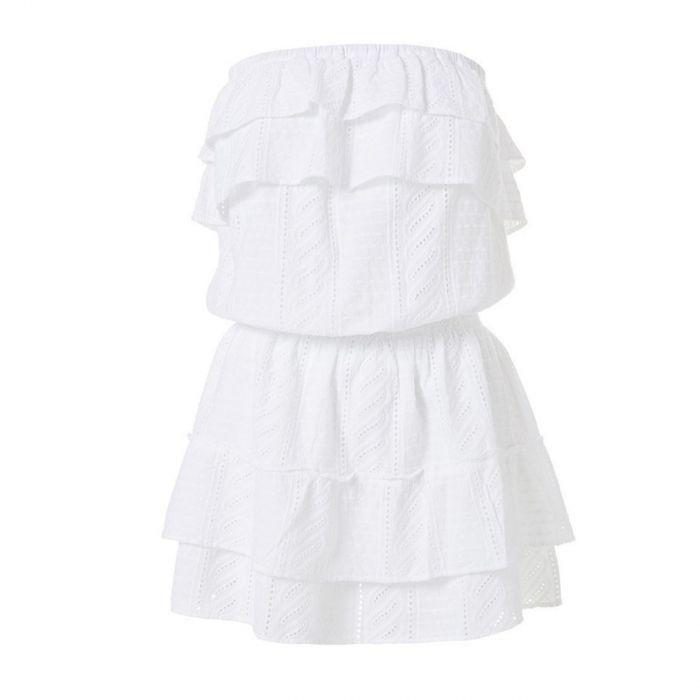 Платье Melissa Odabash белое