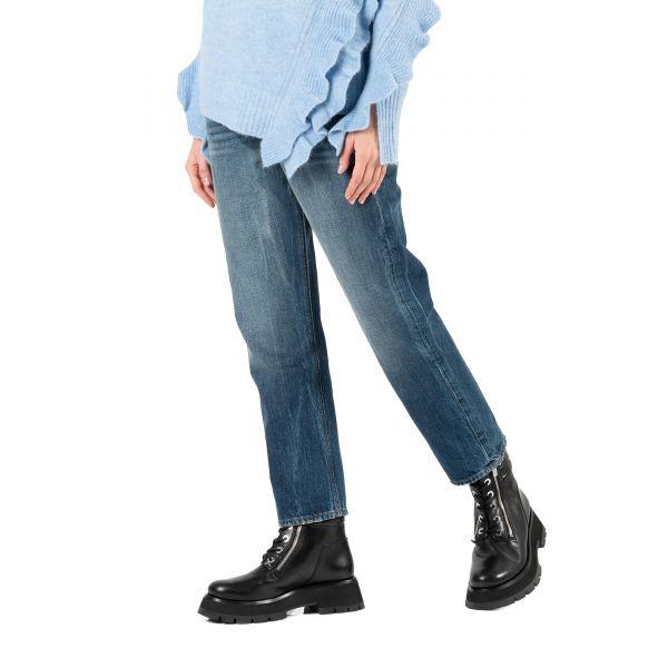 Джинсы Frame Denim сине-голубые