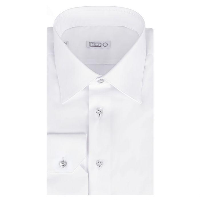 Рубашка с длинными рукавами Zilli белая