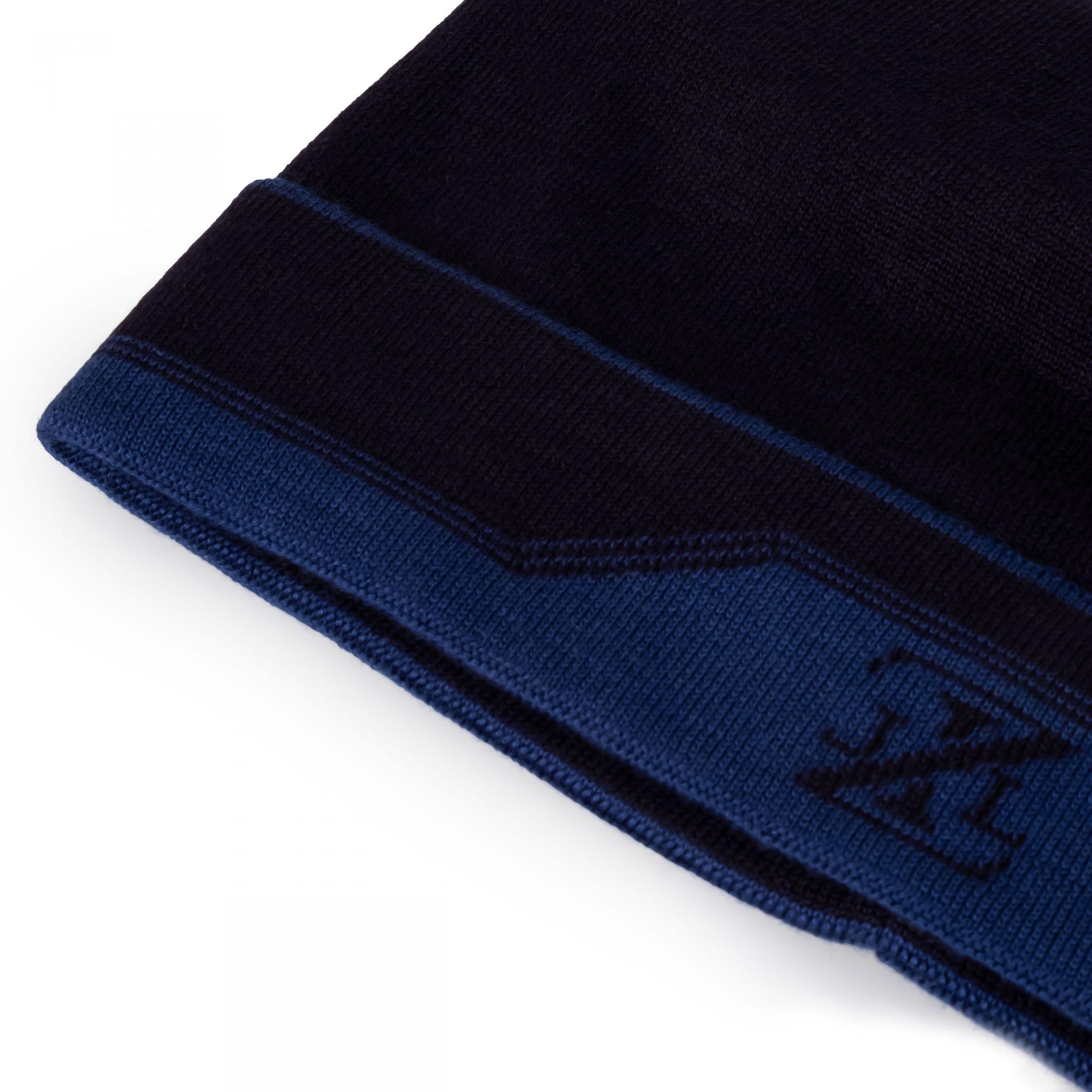 Шапка Zilli синяя