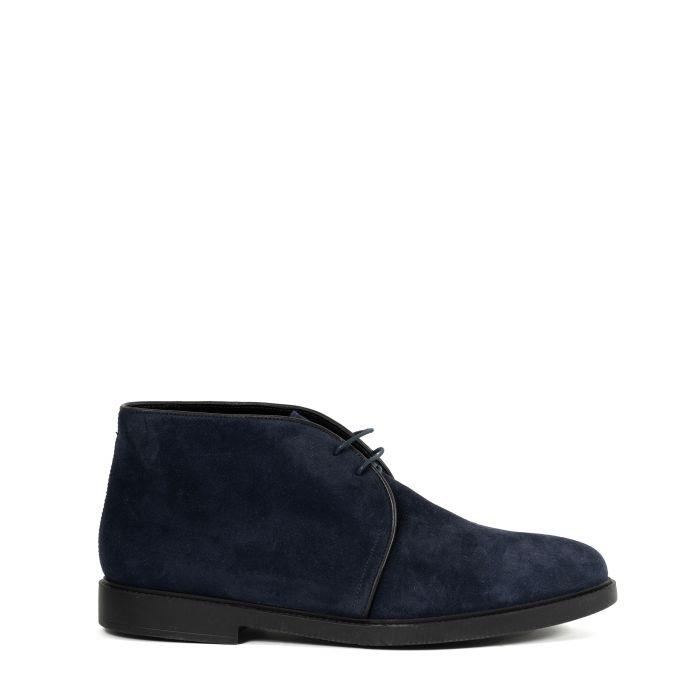 Ботинки на меху Fratelli Rosetti синие