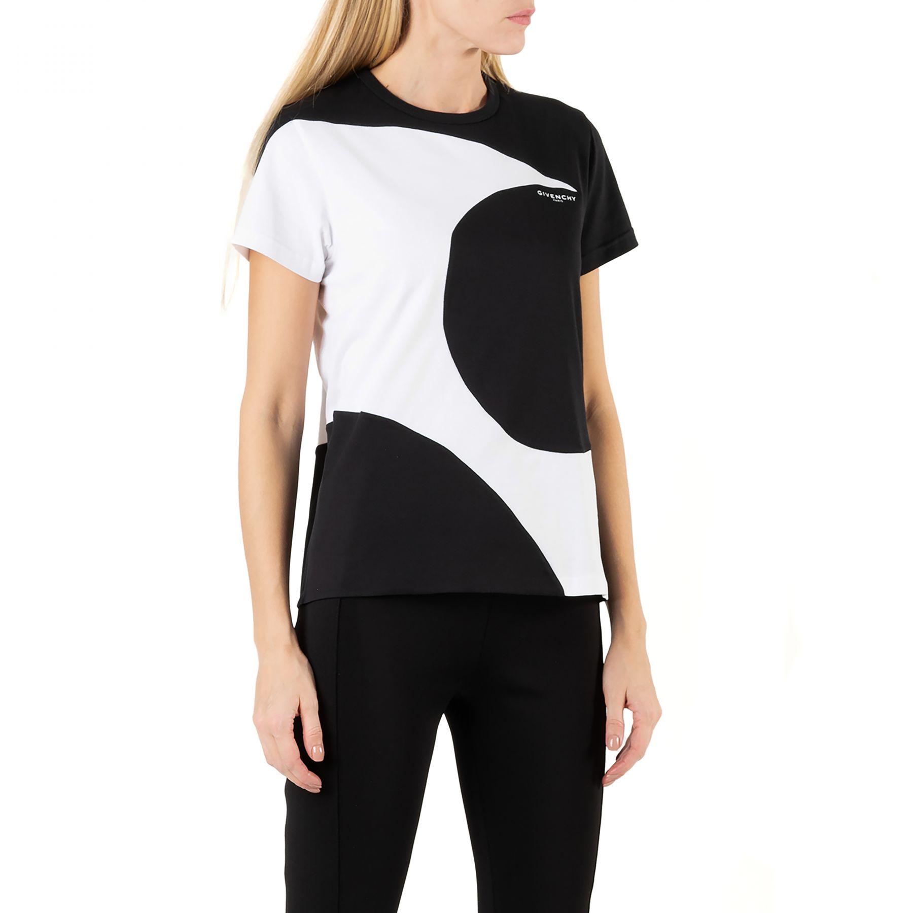 Футболка Givenchy черно-белая