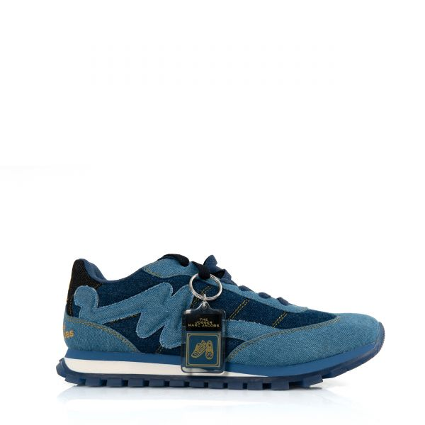 Кроссовки Marc Jacobs THE DENIM JOGGER синие
