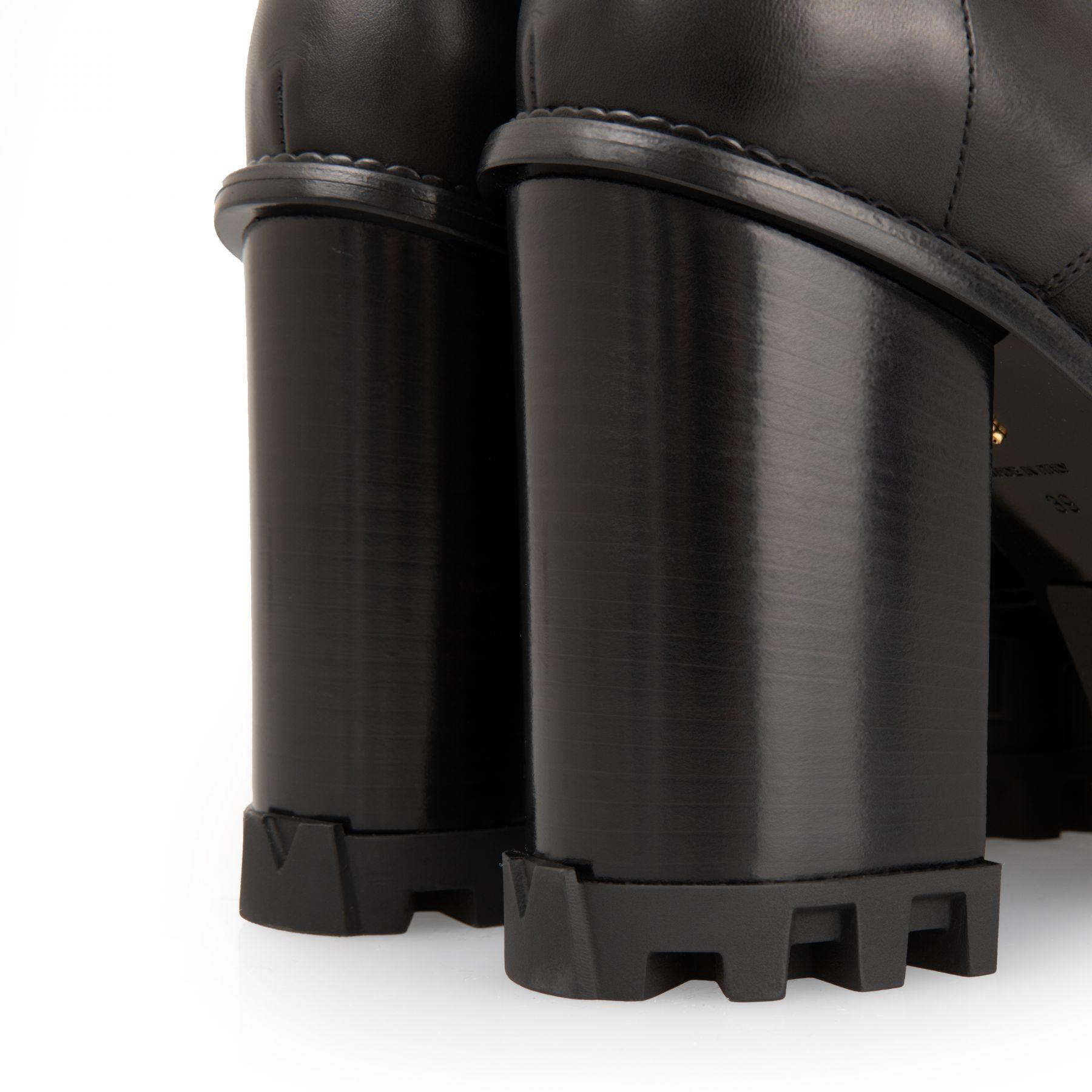 Ботильоны Versace черные