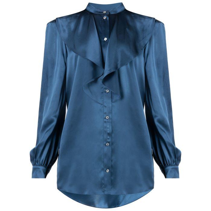 Блуза Redemption синяя