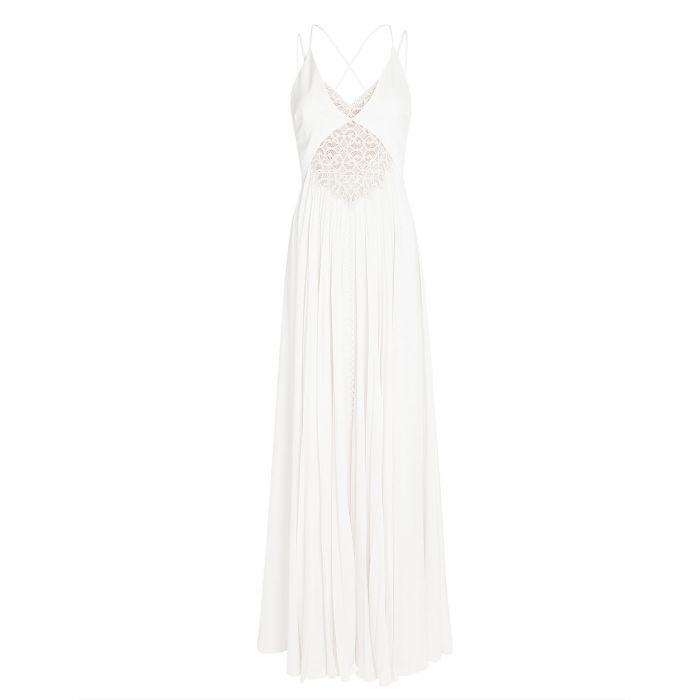 Платье Jonathan Simkhai белое