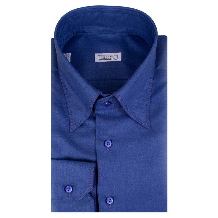 Рубашка с длинными рукавами Zilli синяя