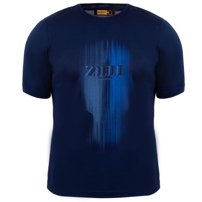 Футболка Zilli синяя