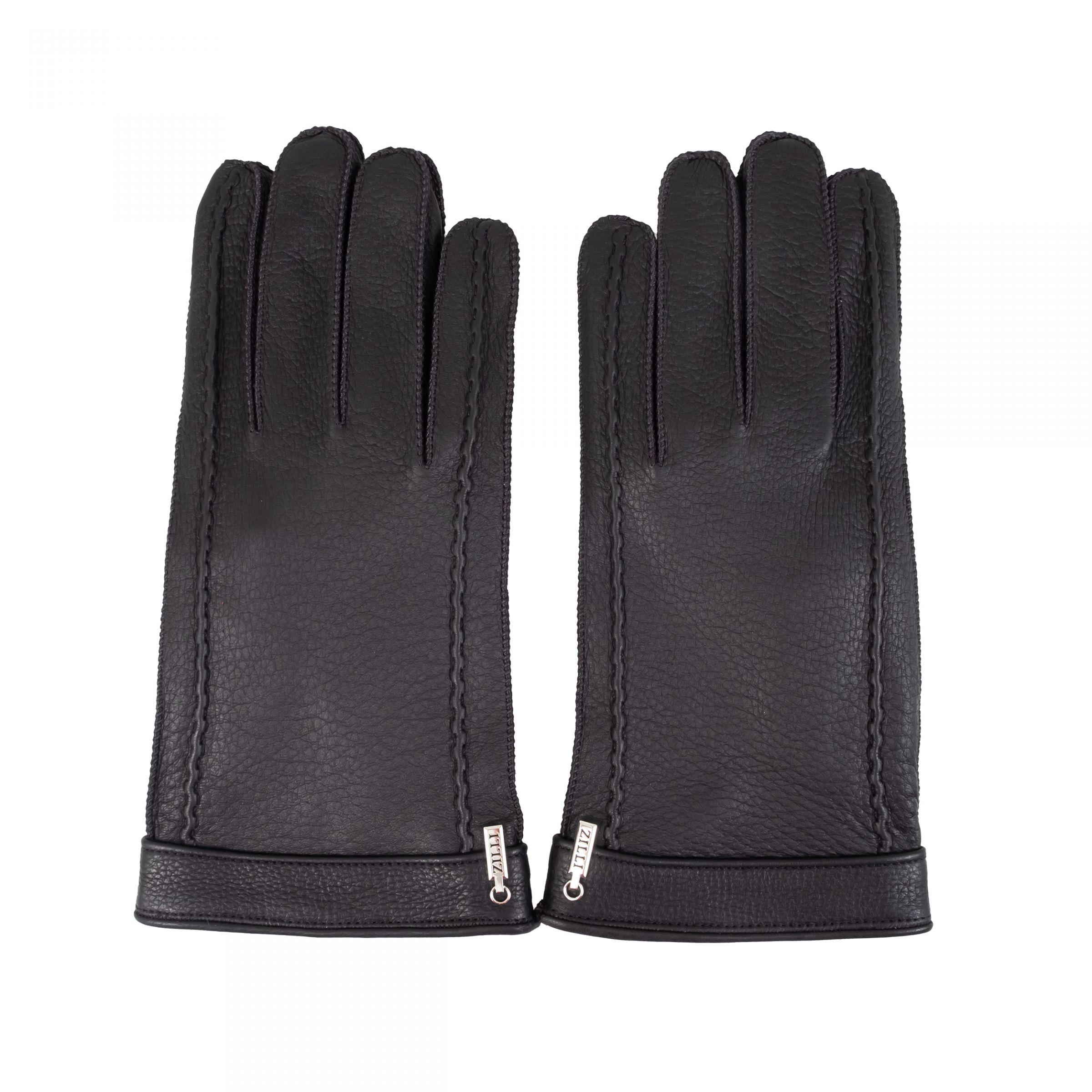 Перчатки Zilli черные
