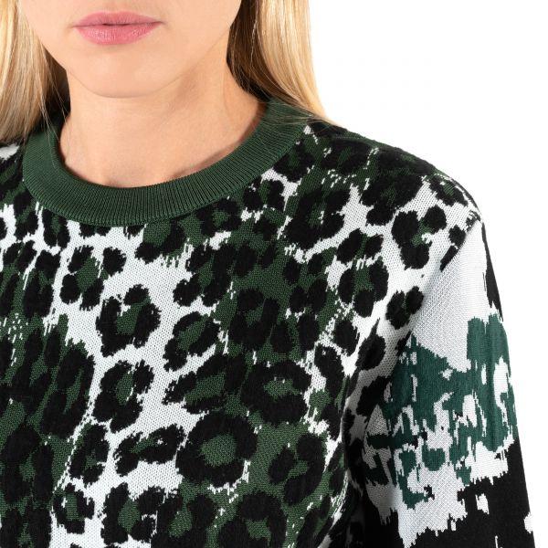 Джемпер Kenzo Leopard леопардовый