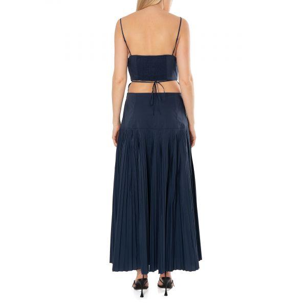 Платье Jonathan Simkhai Rem темно-синее