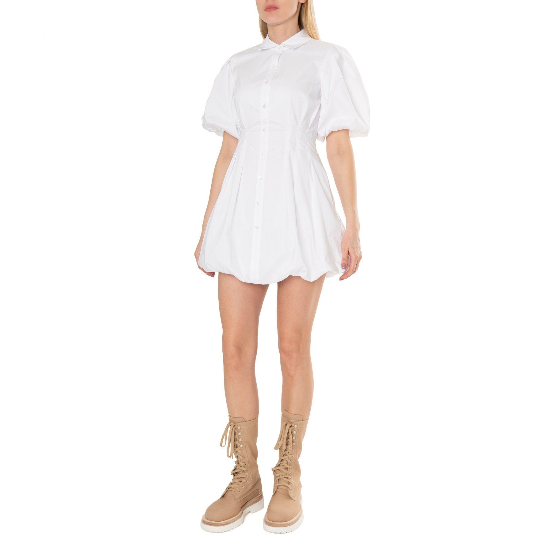 Платье Jonathan Simkhai Cleo белое