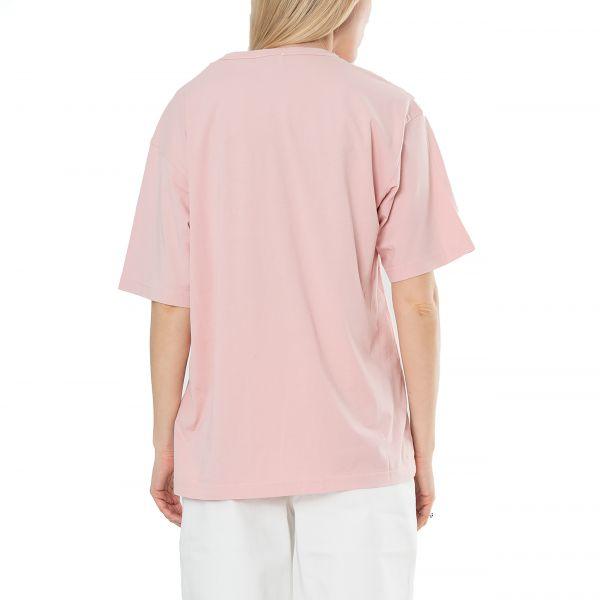 Футболка Nanushka Reece розовая