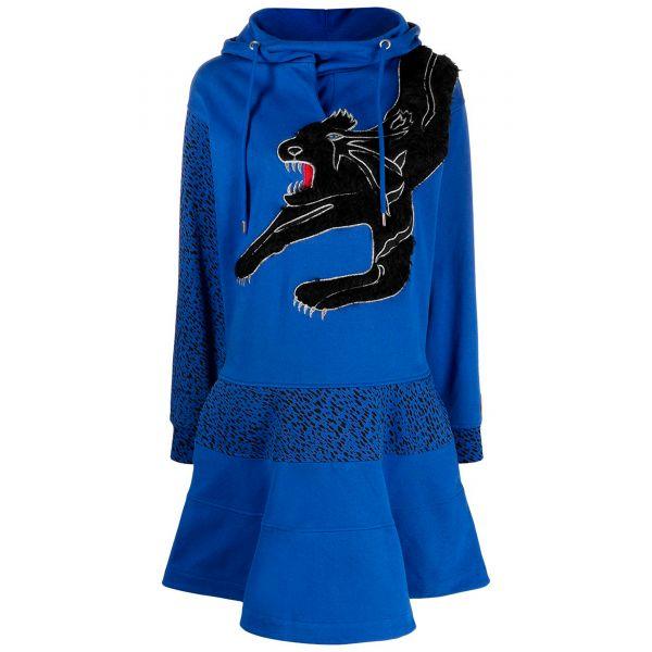 Платье Kenzo Black Puma синее