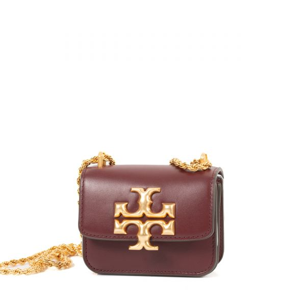 Сумка Tory Burch Eleanor бордо