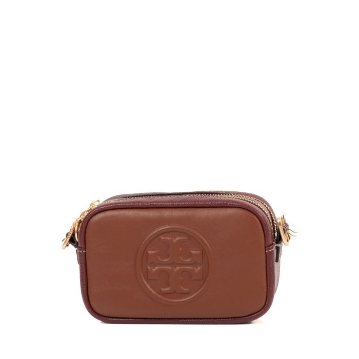 Сумка Tory Burch Perry Bombe коричневая