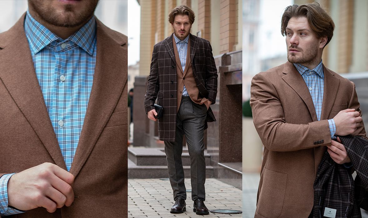 Lookbook men Cult Boutique: Corneliani, Fratelli Rosetti, Richard Brown, Luigi Borrelli